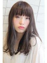 ジル ヘアデザイン ナンバ(JILL Hair Design NAMBA)【大人可愛いセミロング】透き通る透明感☆