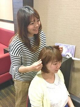 アチーブクロップ(Achieve CROP)の写真/扱いやすく綺麗なヘアを叶えるなら《Stylist相楽まや》にお任せ!女性目線の大人可愛いスタイルをご提案*