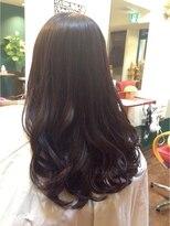 黒髪&艶髪7レベル☆フェアリーショコラパープル