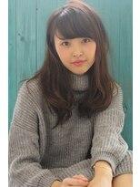 ヘアーアート シフォン 池袋東口店(Hair art chiffon)デジタルパーマ×バレイヤージュでクラシカルノーブルロブ