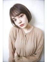 クレドガーデン 西新井店(CRED GARDEN)アッシュベージュ×ミニボブ/大人ガーリー【西新井】