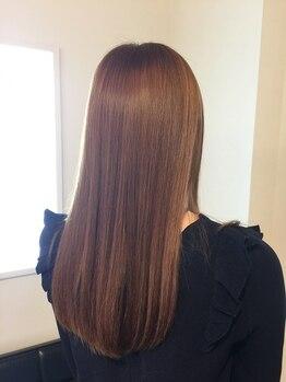 ナルー(nalu)の写真/【髪質改善】まとまらない髪のエイジングケア。お悩みも丁寧にヒアリングしてくれるから安心して相談できる