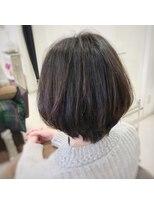 クール ヘアー ギャラリー 神明町店(COOL Hair gallery)ひし形シルエットボブ☆