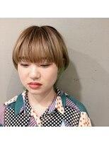 アルマヘアー(Alma hair by murasaki)お洒落なマッシュウルフ