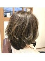 リリー ヘアーデザイン(Lilly hair design)伸ばしかけ『毛先パーマ』