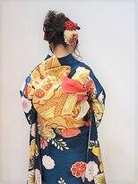 フラココトリコ(hurakoko trico)[hurakokotrico]和泉美佳 ゆるふわ成人式ヘアセット