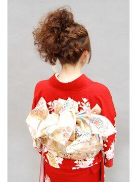 結婚式の髪型(ヘアアレンジ)和装 成人式・髪型・着付・ヘアスタイル