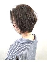 ソース ヘア アトリエ 京橋(Source hair atelier)【SOURCE】ナチュラルショートボブ
