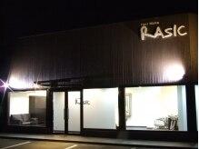 ヘアー メイク ラジック 砥堀店(Hair Make RASIC)の雰囲気(一軒家風の外観が目印です☆ちょっと道路から奥まった所にあり)