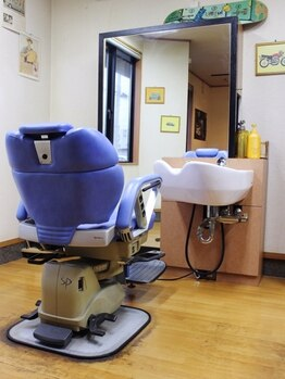 髪工房 M2の写真/【新規/カット+シェービング¥3000】 ベテランオーナーの熟練の技術と、1対1のプライベート空間が◎