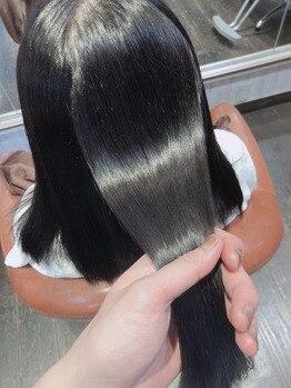 ネクサス ロット 八千代台店(NEXUS-Lot)の写真/日本で取り扱いできるサロンは1%のみ!希少性の高いツヤ髪Trを使用◎質感を整える毛髪改善も大好評!