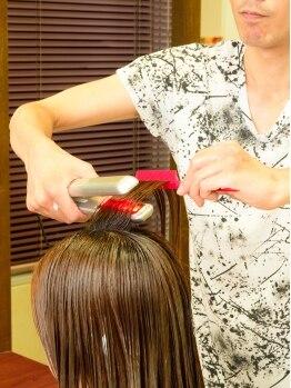 ヘアーサロン よしのりの写真/兵庫県では数少ない<M3Dトリートメント>取扱店◎他にも髪の状態に合わせた豊富な薬剤を取り揃え♪
