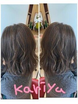 ヘアーメイク カリユ(HAIR MAKE kariyu)ハイライトカラー