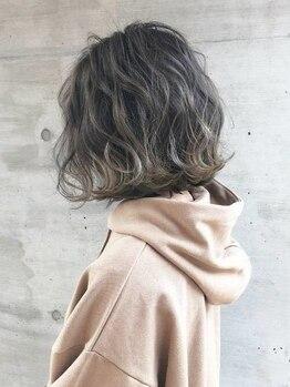 エルズガーデン(L's Garden)の写真/【札幌駅直結】ダメージレスだから毛先まで艶感たっぷり☆キレイが続く♪人気のベージュ系・寒色系も♪