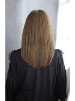前髪イメチェンくびれイヤリングカラー美髪ラベンダーカラー/039