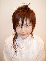 ヘアメイク オブジェ(hair make objet)アシメ