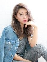 ジュイル シブヤ(JEWIL SHIBUYA)【イルミナカラーでつくる♪】ミストグレージュ×ゆる波ウェーブ