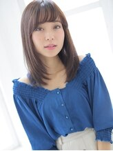 アグ ヘアー ウェリナ 大日イオン前店(Agu hair welina)軽やか☆ストレートスタイル