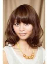 ヘアーメイク ピュア(hair make Pure)ロングなのにふわふわボブ風☆しなやかで優しいスタイル