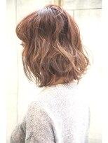 ダミアバイルル(DAMIA by LuLu)大人スタイル× カットで決まる×ふんわりヘア&外国人カラー