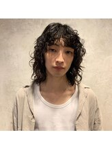 フラワーズ(FLOWERS) men's  medium perm(金井田)