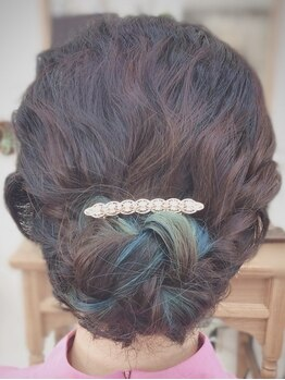 フェイス(faith)の写真/かわいいヘアセットで楽しい思い出をさらに彩る◎ 結婚式・2次会・イベントやちょっとしたお出かけにも!