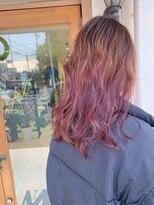 マイ ヘア デザイン(MY hair design)ピンキーグラデーション
