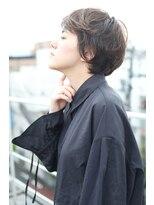 レンジシアオヤマ(RENJISHI AOYAMA)ジェンダーレスエアリーショート 【池田涼平】