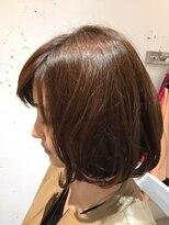 ヘアー カラー キー(HAIR color KEY)低温デジタルパーマボブ