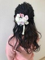 アドゥーヘア ヴィス(A do hair vis)卒業式ヘアセット