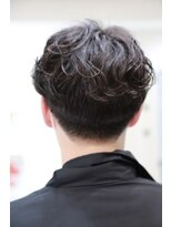 ヘアーメイク プリュム(Hair make Plume)men'sパーマ×マッシュ