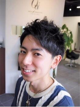 ウィ ラグゼ 北千住店(Oui luxe)の写真/《北千住駅徒歩8分》あなたのライフスタイルに合う髪型を提案♪どんなシーンでもかっこいいスタイルに!