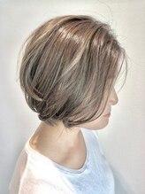 ルクステラスヘアサロン(Luxe Terrace hair salon)【艶髪】ハイライト×グレージュ