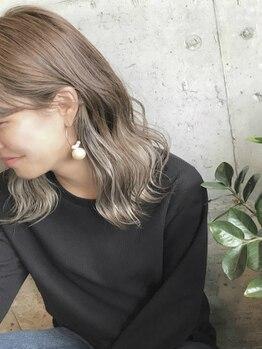 ヘア カラー ポート(Hair Color PORT)の写真/ハイライト/ローライト/Wカラー等何でもお任せ!カラー専門店ならではの価格、こだわりの高品質商材使用◎