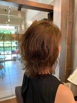 ムード 金沢文庫 hairdesign&clinic mu;d【山崎直樹】 ミディアムスタイル