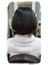ヘアサロンアンドリラクゼーション マハナ(Hair salon&Relaxation mahana)短くしたい方必見♪ツヤ&エアリーでシンプルボブをかっこよく!
