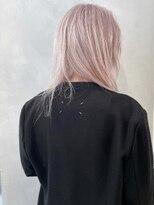 シキナ(sikina)【ナカムラ_design】ミディアム アッシュピンク ホワイト