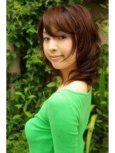 ヘアーメイクラウンジ テトテ(Hair Make Lounge tetote)大人フェミニン☆ミディアムロング