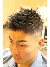 ディスパッチヘアー 甲子園店(DISPATCH HAIR)スキンフェード刈上げ×束感ベリーショート