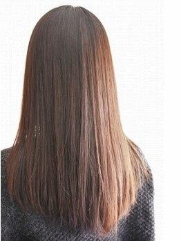 """マークス(MARKS)の写真/理想の髪を創るトリートメント""""マイフォースカスタマイズ""""で潤い溢れる美髪に◎新感覚の手触りに感動-…"""
