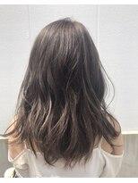ポッシュ 原宿店(HAIR&MAKE POSH)ハイライト×グレージュ×クリアアッシュ