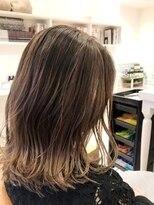 ヘアーサロン リアン 熊谷2号店(hair salon Rien)バレイヤージュベージュ