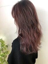 ガーデン ヘアーアンドボタニカル(Garden hair&botanical)【ロングスタイル】ピンクモーブカラー