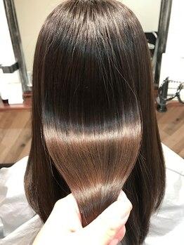 マチルダ ヘア プライベート(Matilda hair private)の写真/【藤井寺駅前】縮毛矯正&毛髪復元の専門店★ツヤ、手触り、全てに、あなた史上ベストな仕上がりをお届け◎