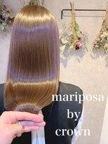 マリポーサ バイ クラウン(mariposa by crown)髪質改善カラー