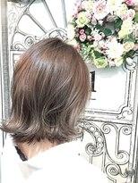 外ハネxハイトーングレージュ♪【miel hair blanc】