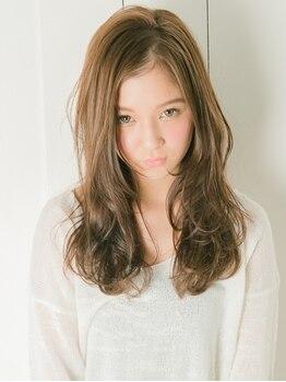 カーラヘアー(Cara-hair)の写真/【2周年♪/茨木市駅】髪に優しい薬剤で価格以上の仕上がりに。朝のスタイリングも楽におしゃれ度UP!