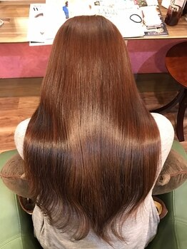ファボリ(Favori)の写真/【オーダーメイド艶髪ヘアエステ♪】今までのトリートメントや髪質改善メニューでは満足できなかった方に!