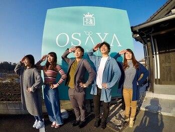 """オサヤ アベイ(OSAYA abei)の写真/経験豊富なスタイリストによる技術で""""理想のスタイル""""をGET☆どんな些細なお悩みも<OSAYA abei>にお任せ"""