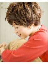 【奈良/富雄nao*c】☆大人かわいい丸みマッシュショートヘア